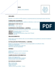 Modelo de Currículum BT