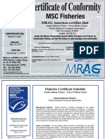MSC certificate for Prince William Sound salmon