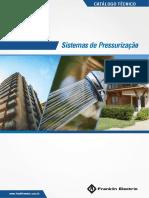CATÁLOGO PRESSURIZAÇÃO - 05-2017
