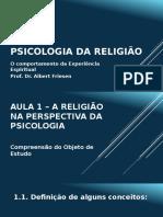 A 1 Psicologia Da Religião - Cópia