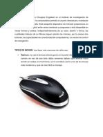 Tipos de Mouse