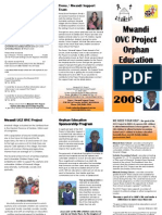 Mwandi Orphan Children Project Brochure