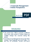 Stress in Corporate Management (by S.K. Tannan)