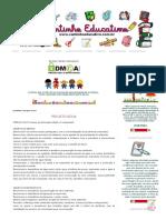 Cantinho Educativo_ Projeto Água