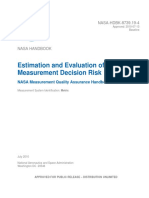 Estimation in the Evaluation of Measurement Decision Risk NHBK873919-4