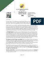November-December 2005 Mwandi Zambia Orphans Project Newsletter