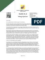 February-April 2006 Mwandi Zambia Orphans Project Newsletter