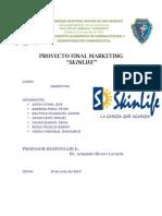 Skinlife_monografia Final Proyect Marketing 2010_pharmacy and Biochemistry