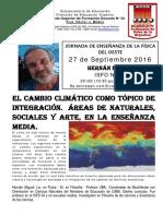 ISFD N34 Cambio Climatico - H. Miguel 27-9-16