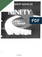 Land Rover 90 - Workshop Manual (1)
