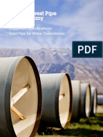 Specs - Steel Pipe for Water Transmission