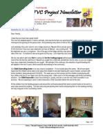 July-August 2007 Mwandi Zambia Orphans Project Newsletter