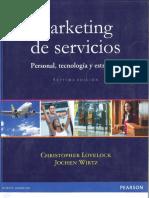Marketing de Servicios. Lovelock