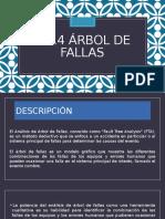 ARBOL DE FALLAS E INDICE HAZOP