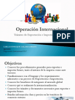 Evidencia 5 Negociación Internacional y Documentación Requerida Operación Internacional