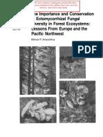 1998_Amaranthus_Importance and Conservation of Ectomycorrhizal Fungal Diversity