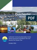 Colchester VT Final Report