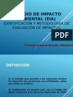 EIA en Taller Evaluacion de Proyectos