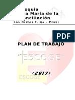 Plan Parroquial - Escoge 2017