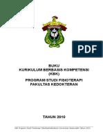 Format Kbk Fisioterapi