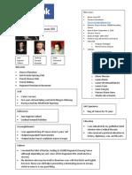 facebook project pdf