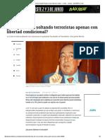 Entrevista de María Isabel Rueda a Jaime Bernal Cuéllar - Cortes - Justicia - ELTIEMPO
