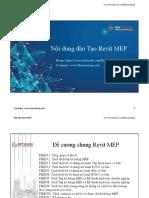 Chương Trình Đào Tạo Revit MEP phục vụ Doanh Nghiệp thiết kế