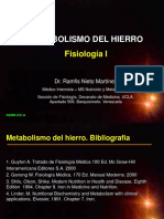 METABOLISMO HIERRO