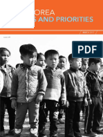 DPRK Needs and Priorities 2017