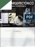 Diseño Arquitectonico-Enfoque Metodologico-Rafael Martínez Zárate