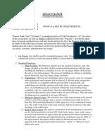 Convenants & Restrictions