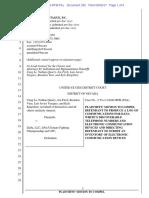 Plaintiffs Motion to Compel
