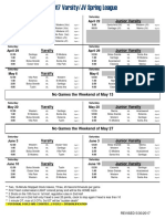 2017 var jv spring league schedule v5 updated 5-30