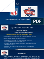 Clínica de Tochito Nfl (Reglamento - Arbitraje) 2012