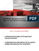 Managerial Finance Topic 11 2017
