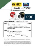 2010 CrossTown Classic Football