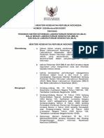 KMK No. 1225 Ttg Pedoman Sisfo Laboratorium Kesehatan (SILK)