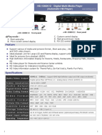 HD-1080K12 Digital Multi Media Player Catalog