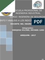 Formulación, Seguimiento y Análisis a Los Indicadores de Seguridad y Salud en El Trabajo