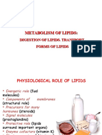 Ppt 3 Lipid Metabolism