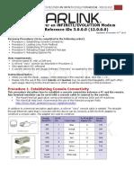 How to Recover an INFI Evo Modem Recovery Procedure IDx 3 0 0 0