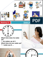 Meeting 11 - Daily Routine Fixed