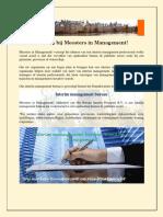 Inhuren Interim management bureau professional - Meesters in Management