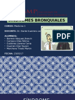 SINDROMES BROQUIALES