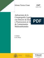 Aplicaciones de La Cromatografia Liquida Con Detector de Diodos y Fluorescencia Al Analisis de Contaminantes Medioambientales