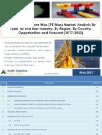 Global Polyethylene Wax (PE Wax) Market