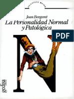 La personalidad normal y patológica [Jean Bergeret].pdf