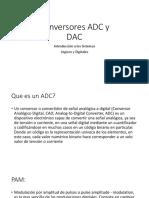 Conversores ADC y