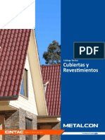 Catalogo Tecnico Cubiertas y Revestimientos Metalcon
