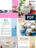 LR Yaourtiere YG651121recettes